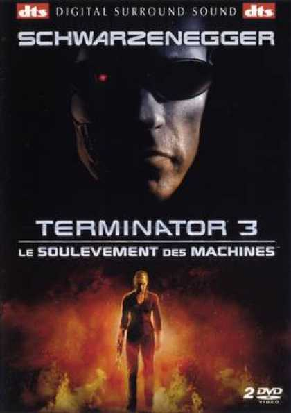 French DVDs - Terminator 3 FRENCH R2 2
