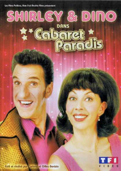 French DVDs - Shirley Et Dino - Cabaret Paradis