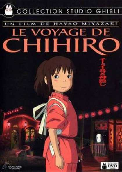French DVDs - Voyage Of Chihiro