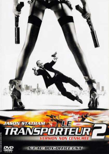 French DVDs - The Transporter 2 EE