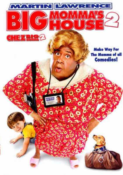 French DVDs - Big Mommas House 2 French Canadian