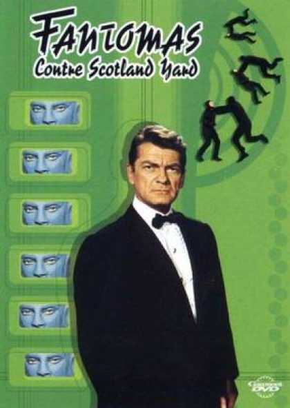 French DVDs - Fantomas Against Scotland Yard
