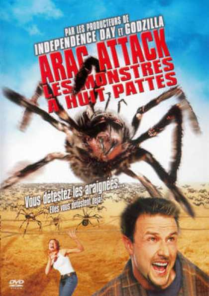 French DVDs - Eight Legged Freaks