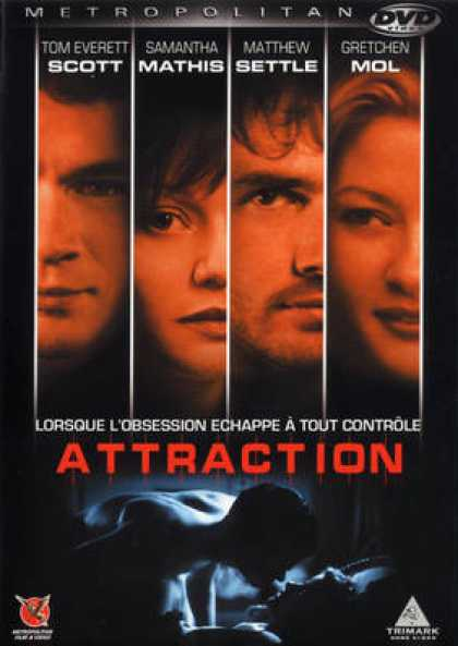 French DVDs - Attraction