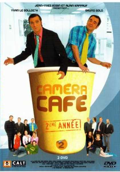 French DVDs - Camera Cafe 2