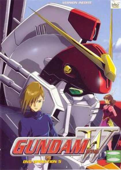 French DVDs - Gundam Wing Operation 5