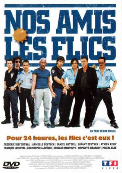 French DVDs - Nos Amis Les Flics