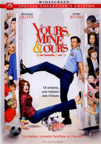 French DVDs - Yours Mine And Ours