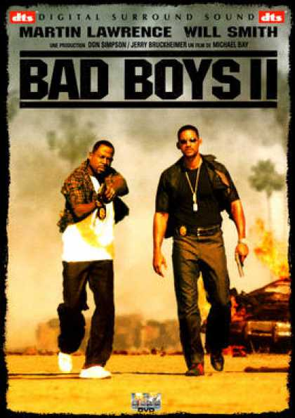 French DVDs - Bad Boys II