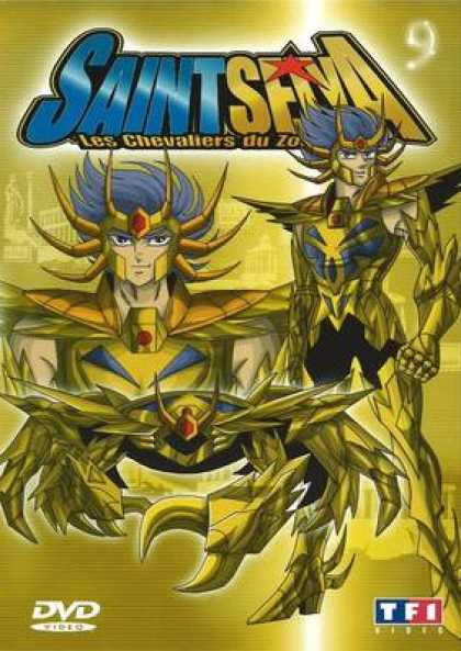 French DVDs - Saint Seiya Volume 09
