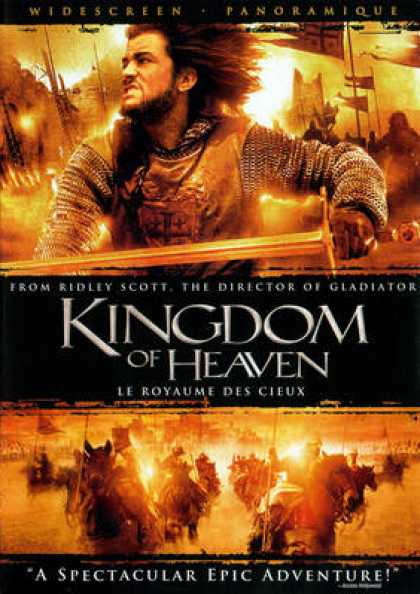 French DVDs - Kingdom Of Heaven