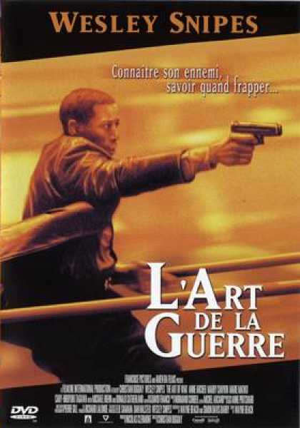 French DVDs - The Art Of War