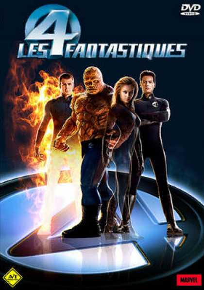 French DVDs - The Fantastic Four