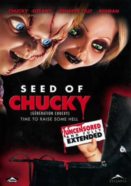 French DVDs - Seed Of Chucky FRENCH ENGLISH