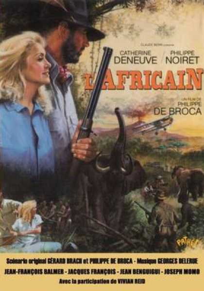 French DVDs - The African