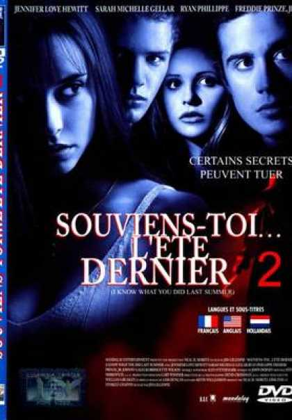 French DVDs - I Still Know What You Did Last Summer 2