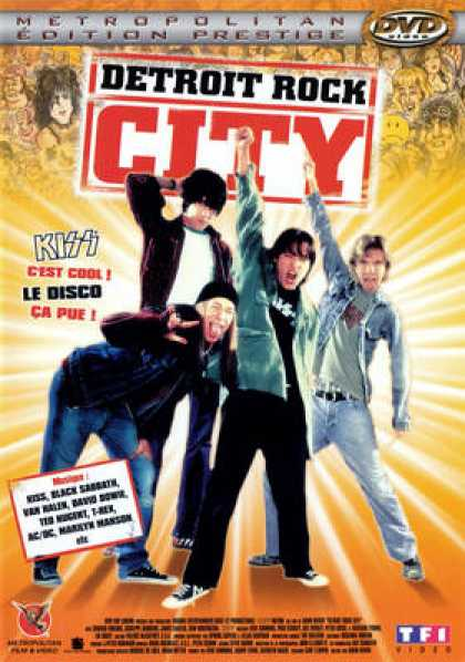 French DVDs - Detroit Rock City