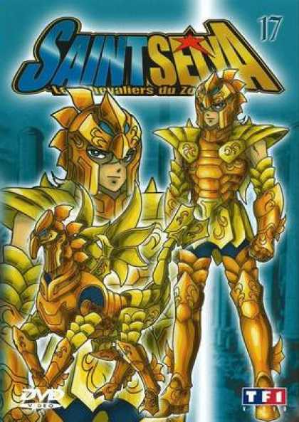 French DVDs - Saint Seiya Volume 17