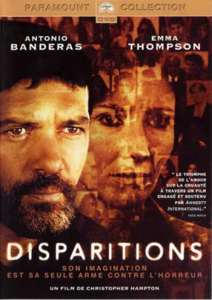 French DVDs - Disparitions