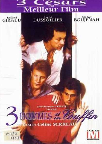 French DVDs - Three Men And A Baby