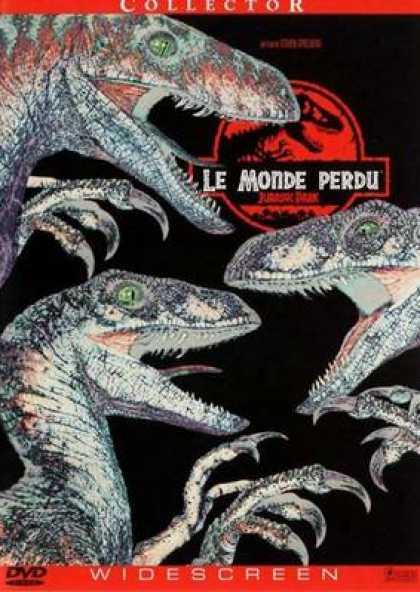 French DVDs - Jurassic Park The Lost World
