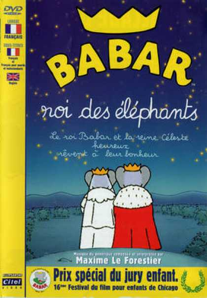 French DVDs - Babar Roi Des Elephants