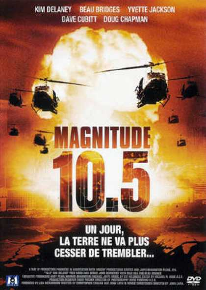 French DVDs - Magnitude 10.5