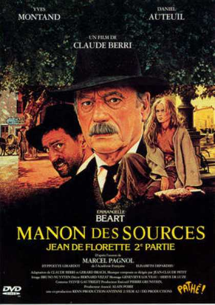 French DVDs - Manon Des Sources