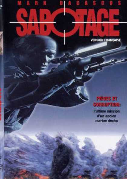 French DVDs - Sabotage French Canadian