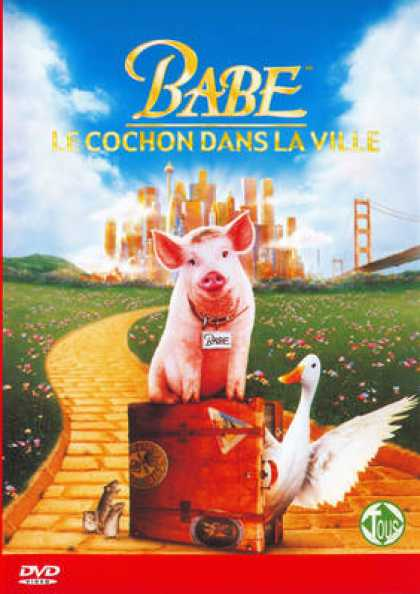 French DVDs - Babe 2: Pig In The City