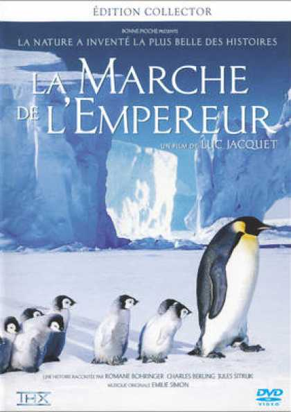 French DVDs - March Of The Penguins