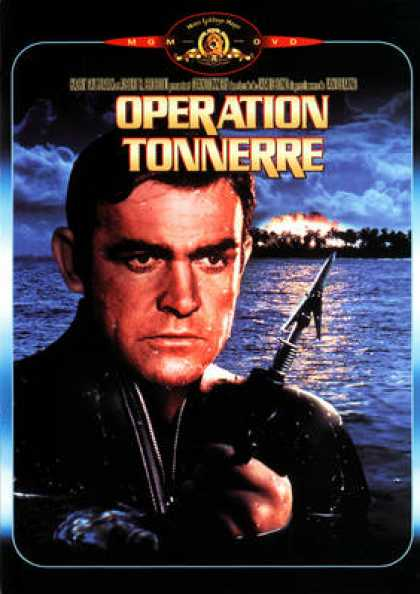 French DVDs - 007 Operation Tonnerre