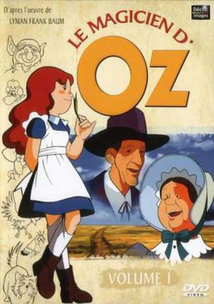 French DVDs - The Wizard Of Oz Cartoon Volume 1
