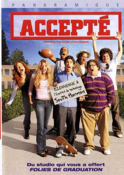 French DVDs - Accepted