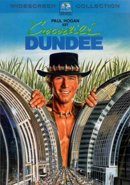 French DVDs - Crocodile Dundee