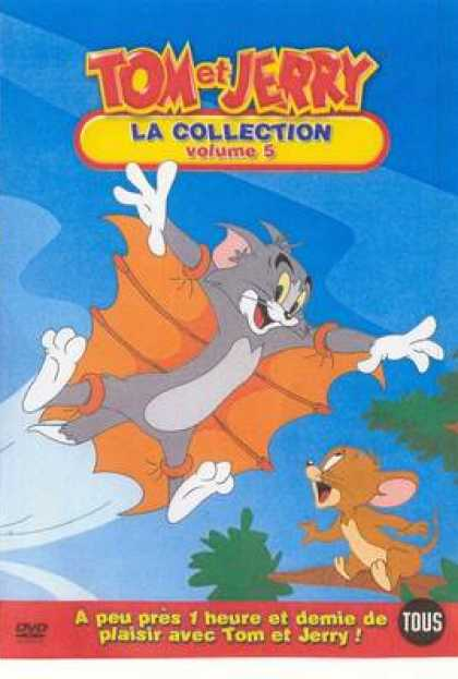 French DVDs - Tom And Jerry The Collection Vol 5