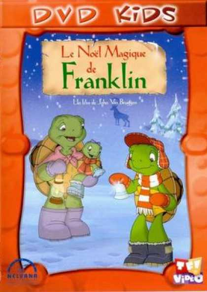 French DVDs - Franklins Christmas Magic