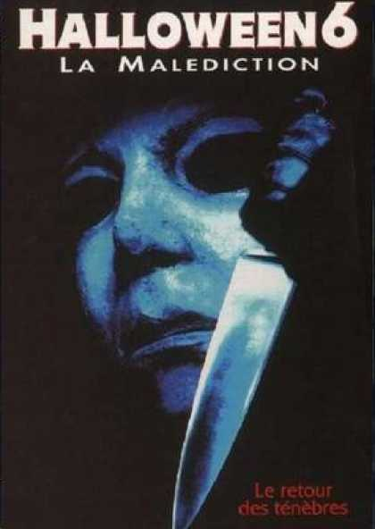 French DVDs - Halloween 6