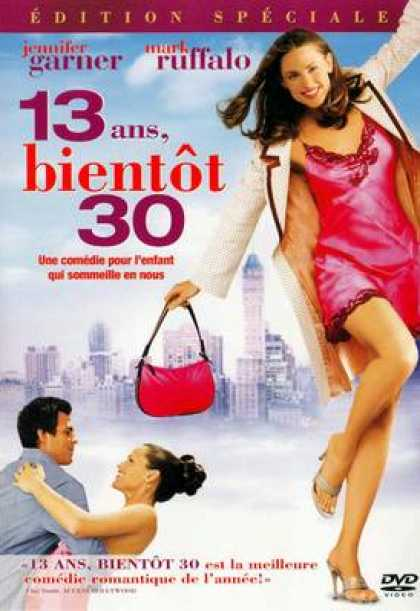 French DVDs - 13 Going On 30