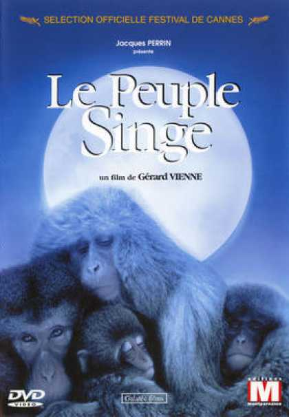 French DVDs - Le Peuple Singe
