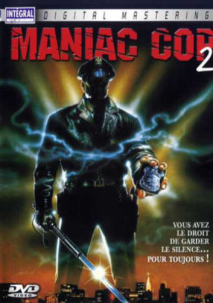 French DVDs - Maniac Cop 2