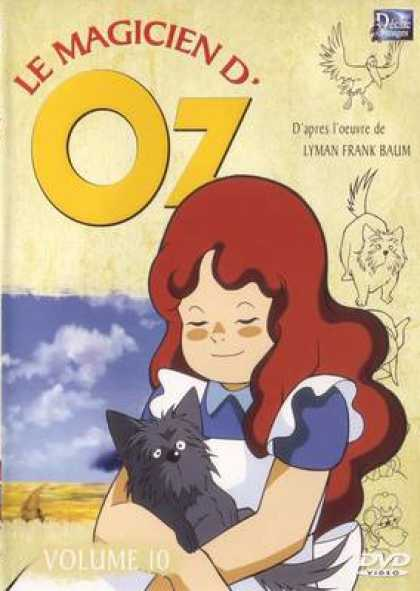 French DVDs - The Wizard Of Oz Cartoon Volume 10