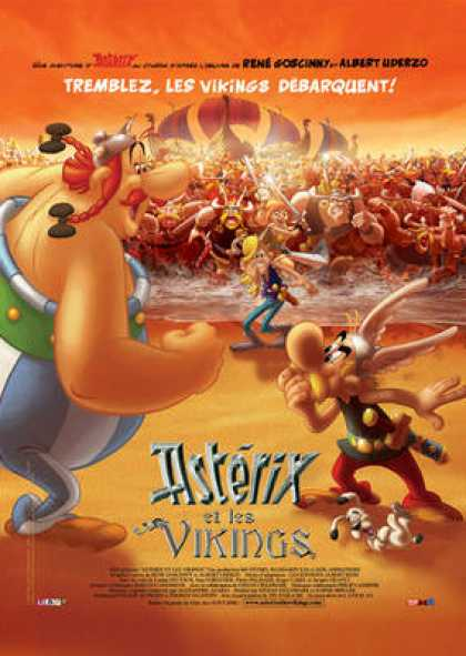 French DVDs - Asterix And The Vikings