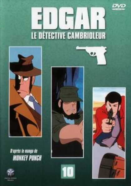 French DVDs - Edgar The Detective Vol 10