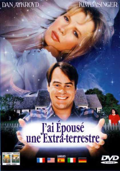 French DVDs - J Ai Epouse Une Extra Terestre