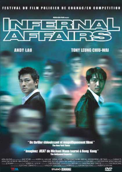French DVDs - Infernal Affairs