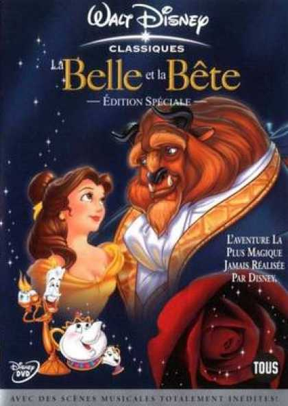 French DVDs - Beauty And The Beast