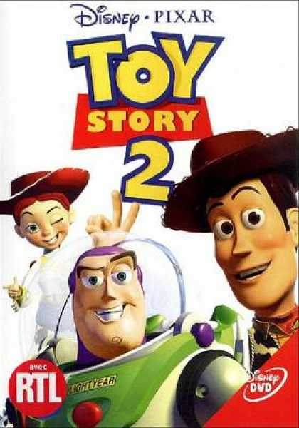 French DVDs - Toy Story 2 Special