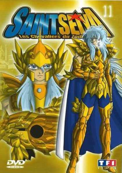 French DVDs - Saint Seiya Volume 11