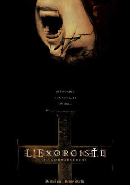 French DVDs - L Exorciste Au Commencement